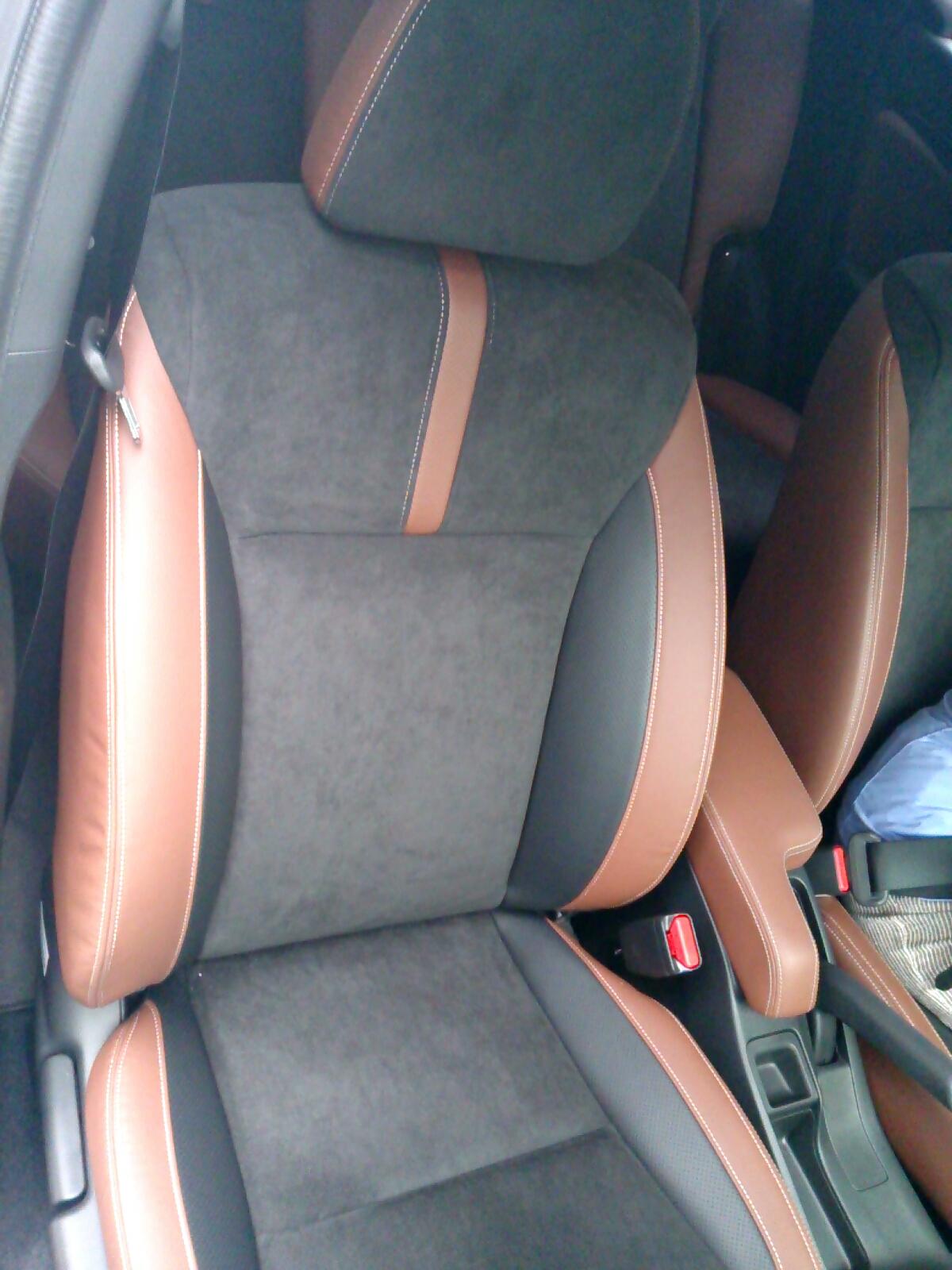 FIT3 MC 運転席シート