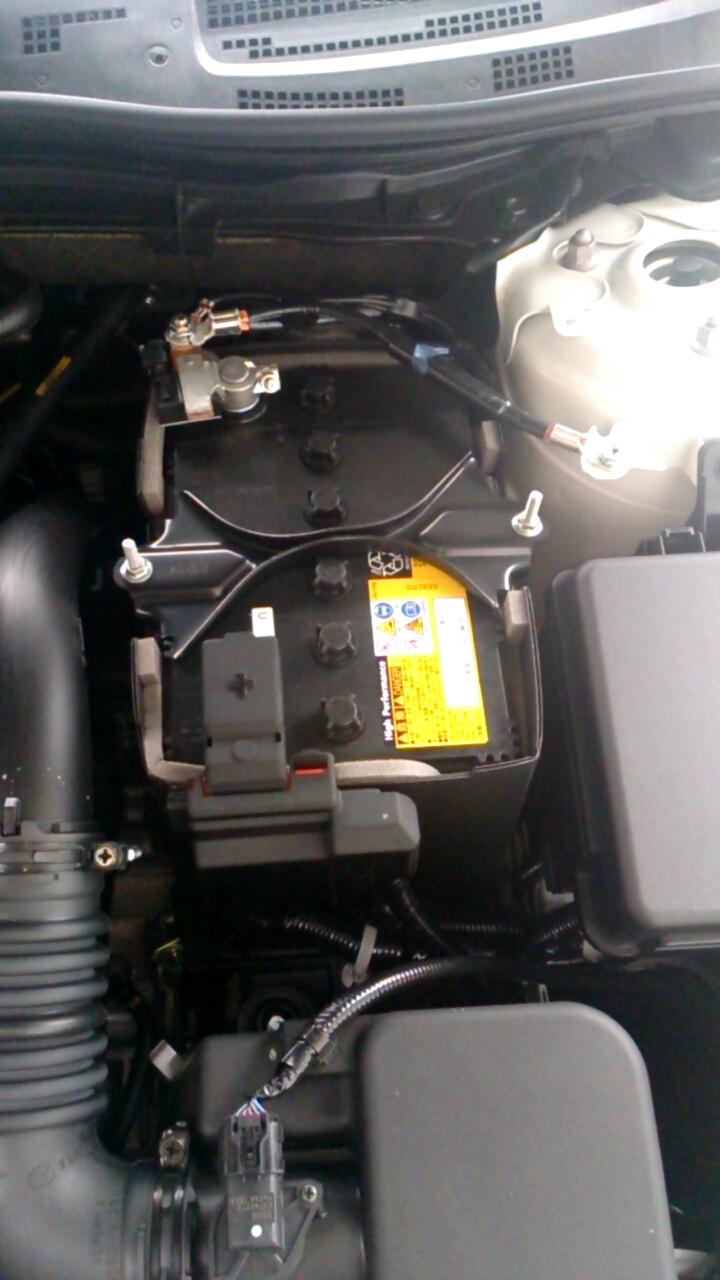 アクセラ1.5 XD Lパッケージ バッテリー