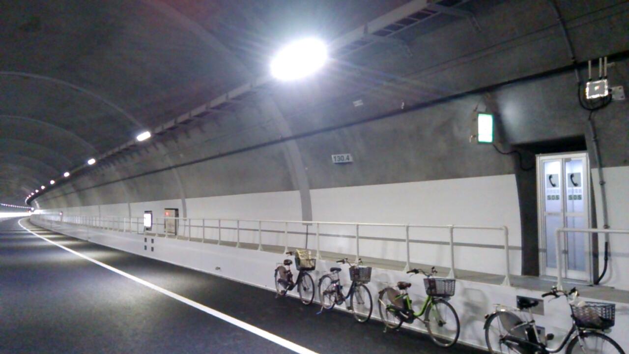 川西トンネル内Uターン(神戸方面を望む)2