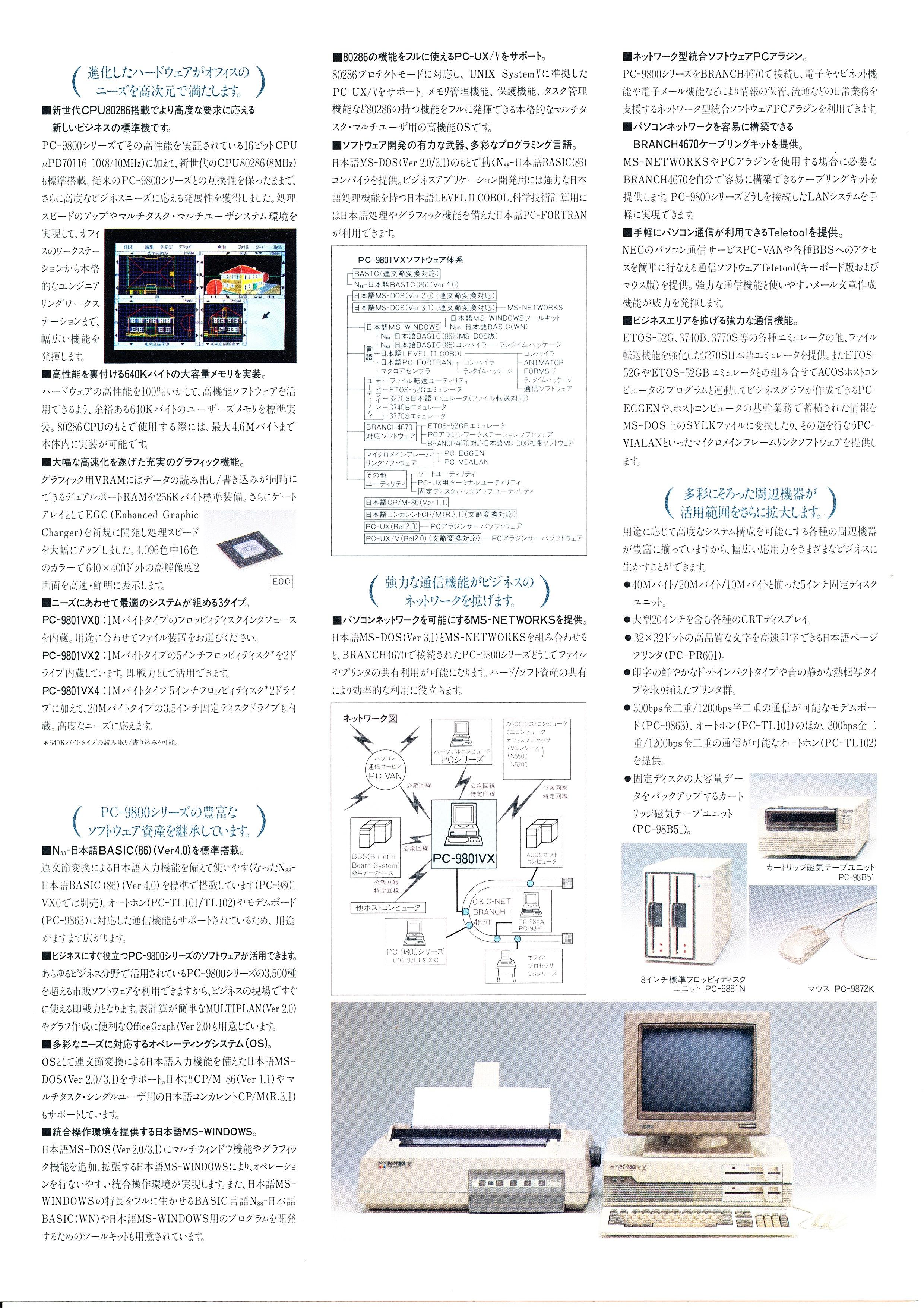 PC-9801VX P3