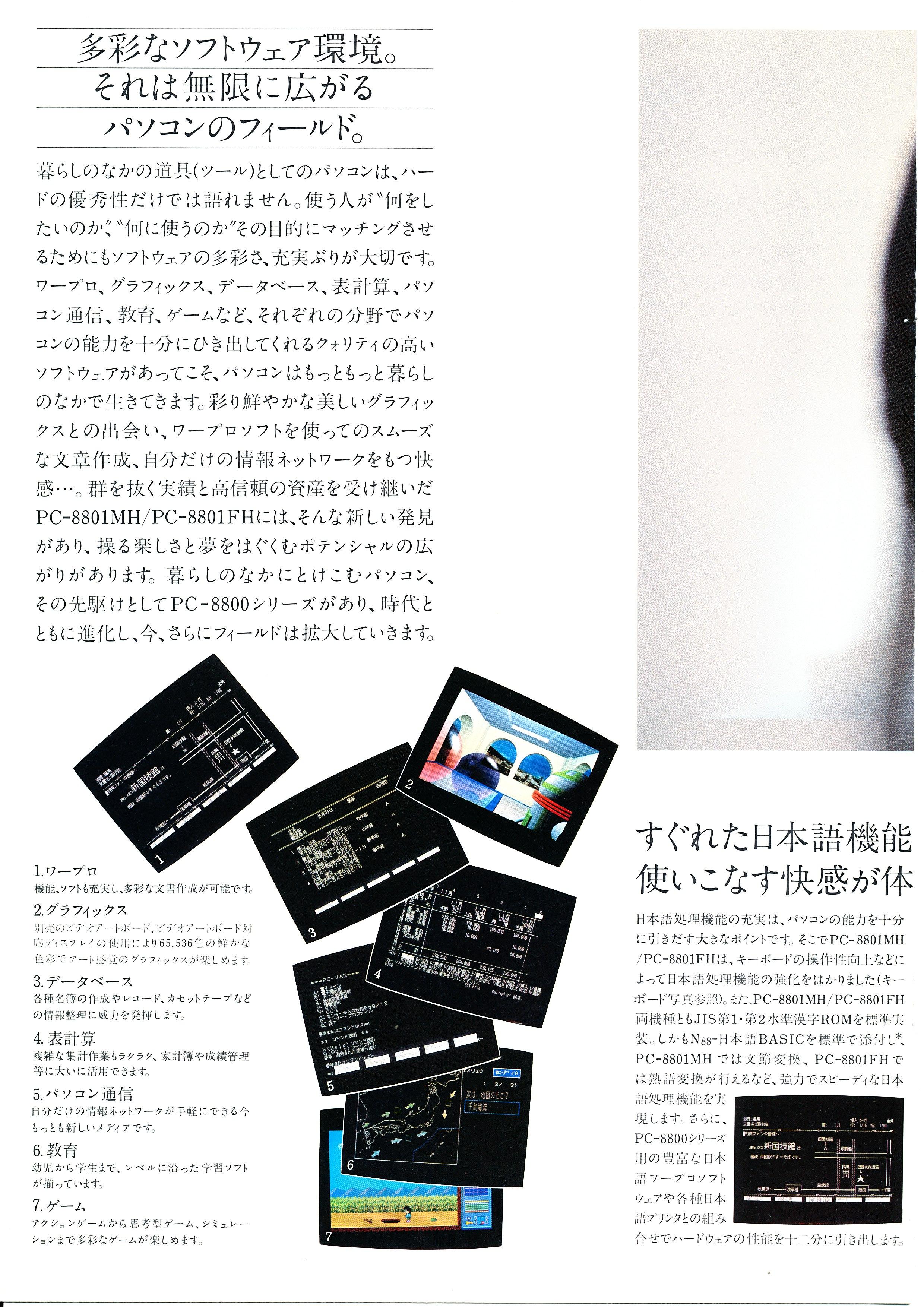PC-8801MH/FH P4