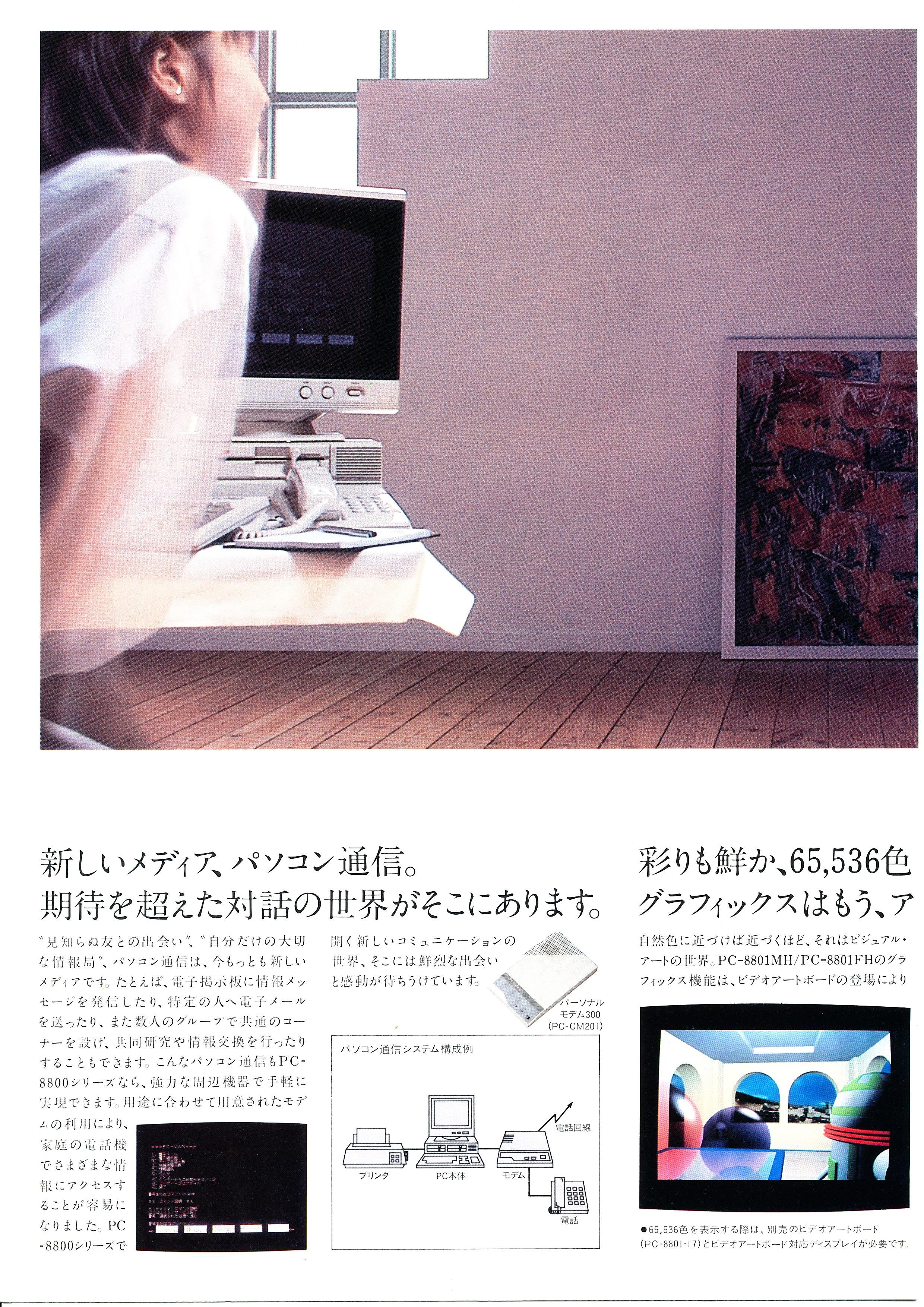 PC-8801MH/FH P6