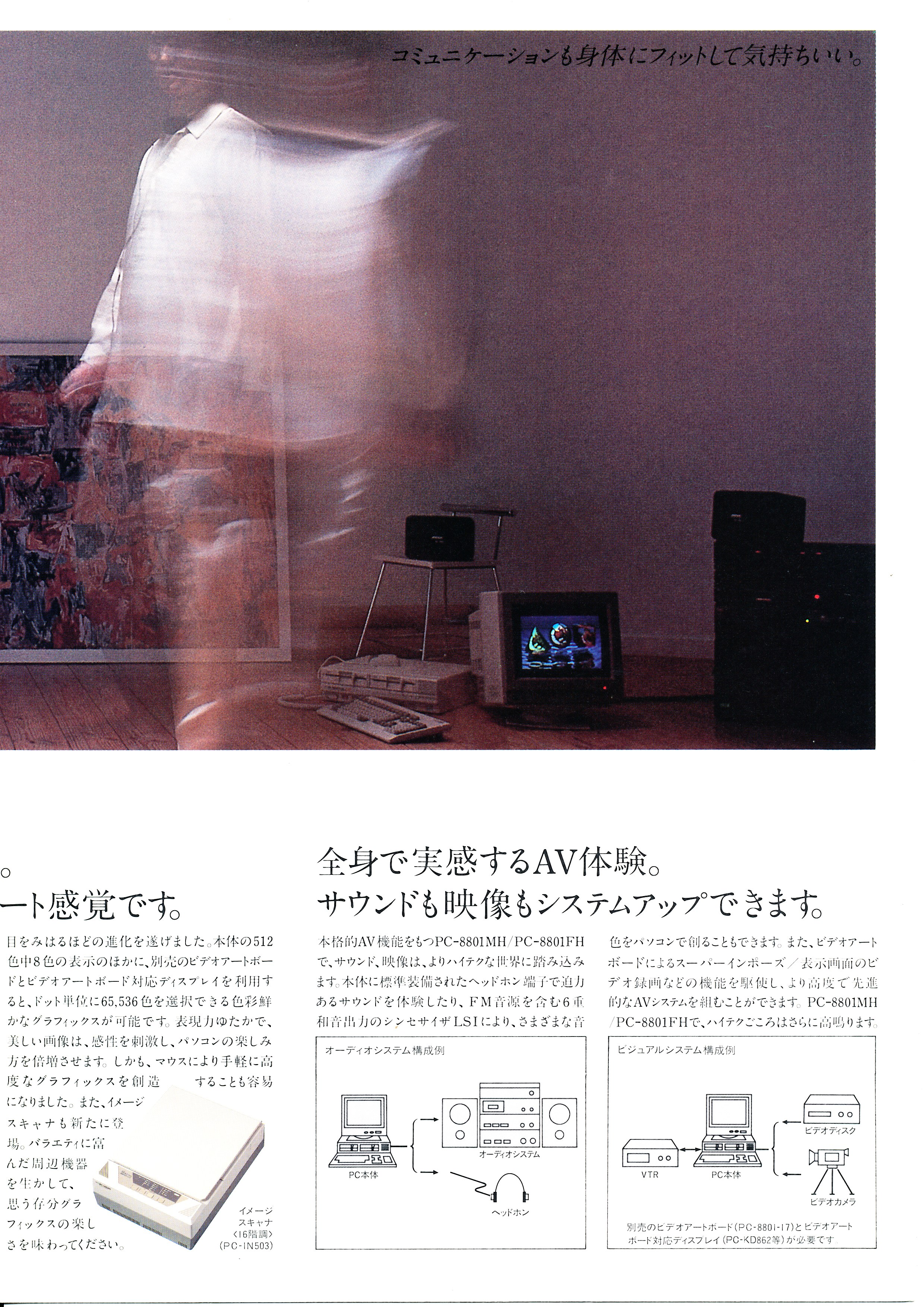 PC-8801MH/FH P7