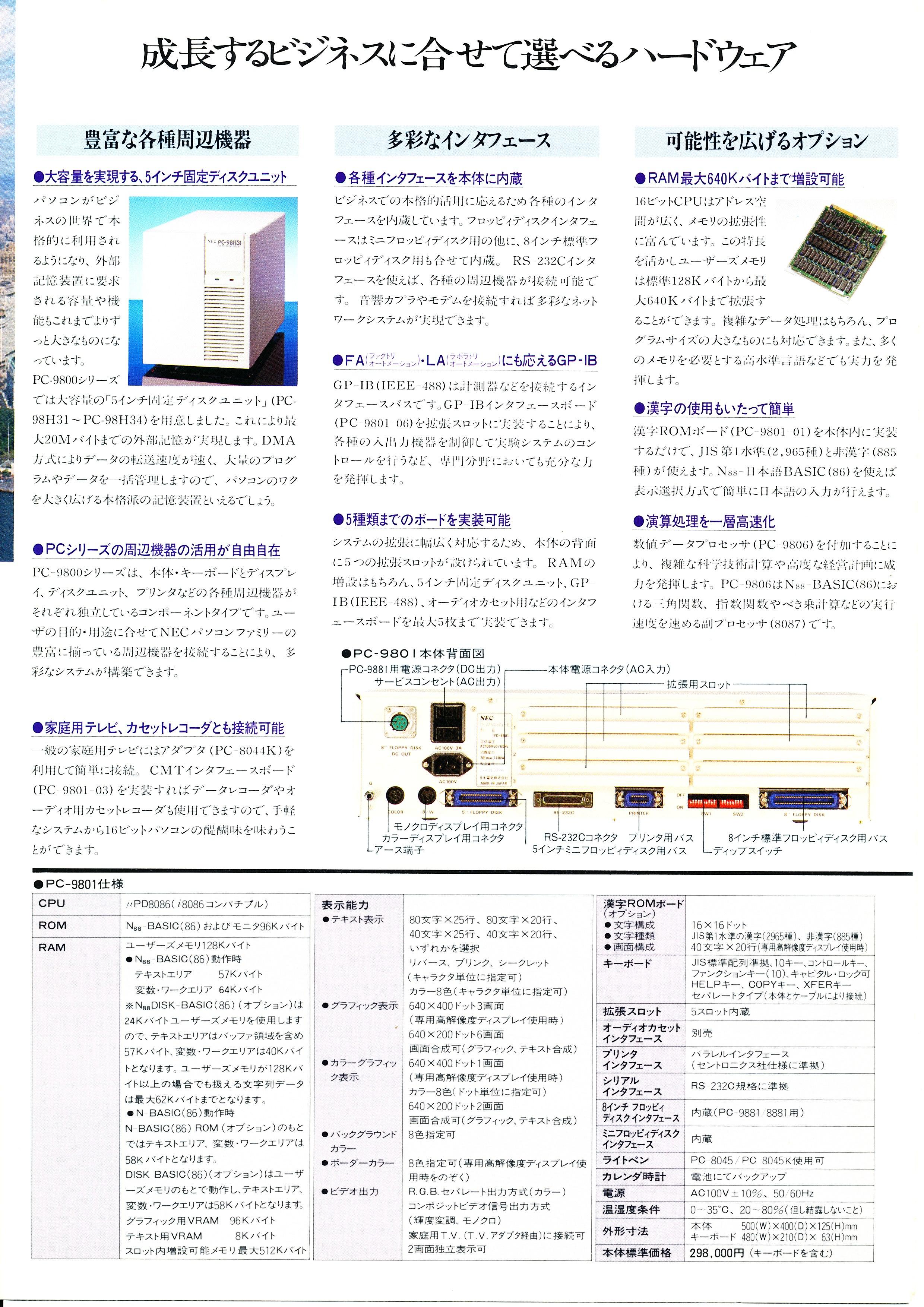 PC-9801 P4