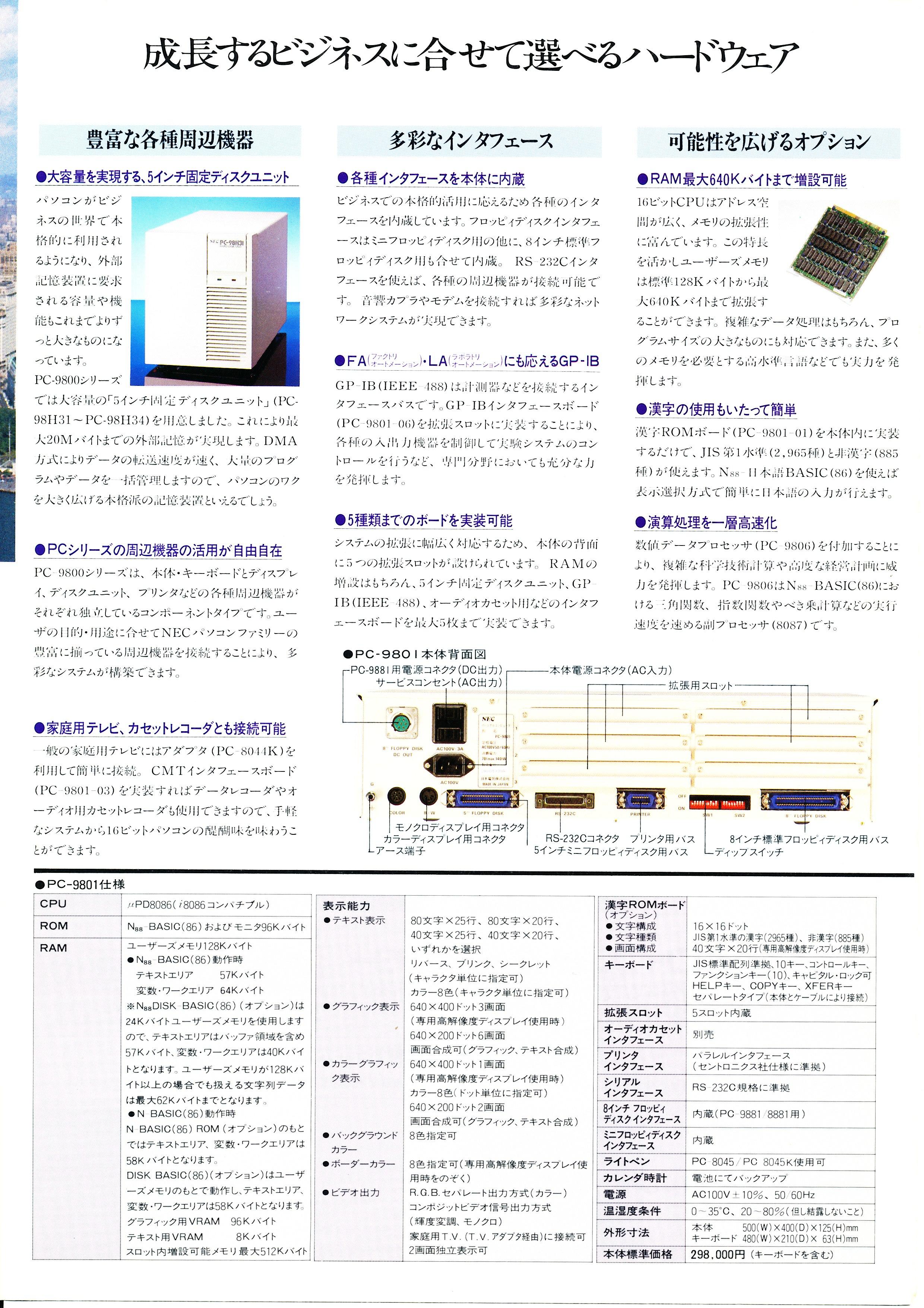 PC-9801 P6