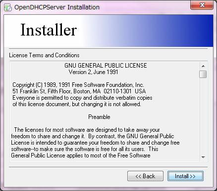 ods install 2